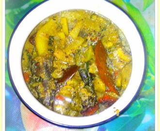 The Quintessential Shukto - Mixed Vegetables Bengali style