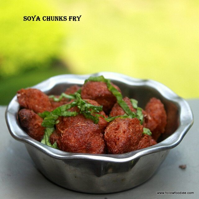 Soya Chunks Fry | Soya 65 | Meal Maker Fry