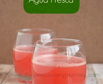 Watermelon Agua Fresca- Watermelon Recipes- Summer coolers
