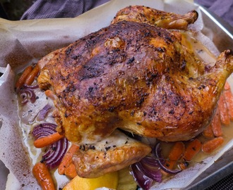 Perfect Lemon Herb Roast Chicken