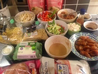 Slimming World Fakeaway Chinese New Year Meal