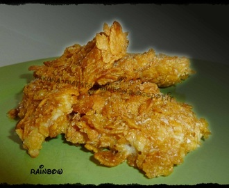 Pollo croccante con corn flakes