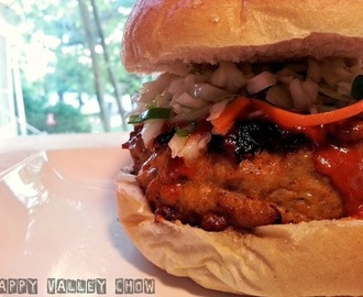 Buffalo Chicken Burger w/ Habanero Coleslaw
