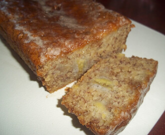 Banana Bread with cinnamon glaze