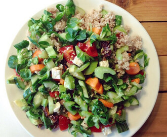 Couscous salade in 10 minuten gemaakt perfect als meeneem lunch