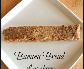 Raw Vegan Banana Bread larabars