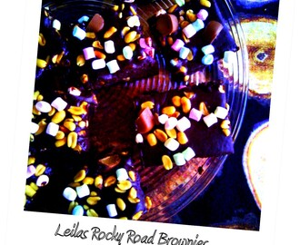 Leilas Rocky Road Brownies - by Anette!