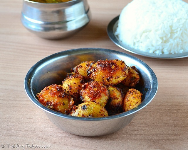 Baby Potato Sambal Recipe | Baby Potatoes Recipes