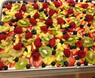 Gluten Free Fruit Pizza