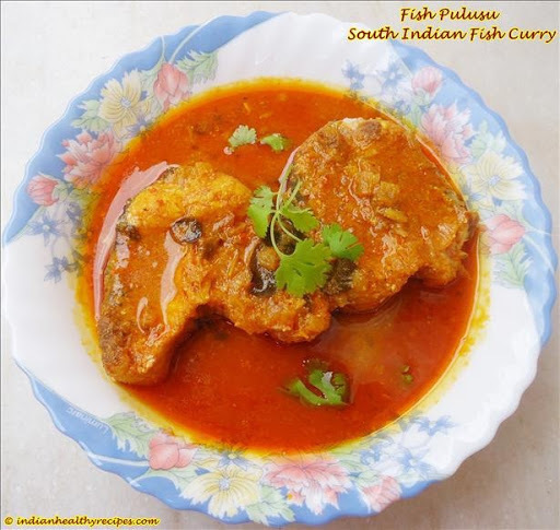 Fish Pulusu | South Indian Fish Curry Recipe