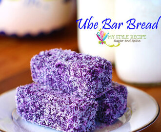 Ube Bar Bread