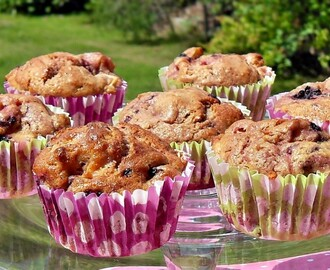 Blackberry, Apple & Speculaas Muffins