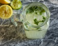 Basil Lime and Lemonade
