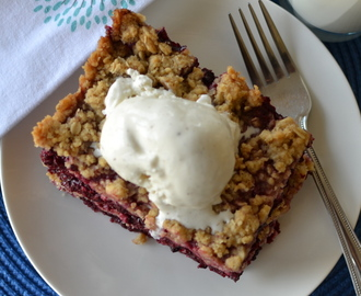 Lip Smacking Good Blackberry Crisp