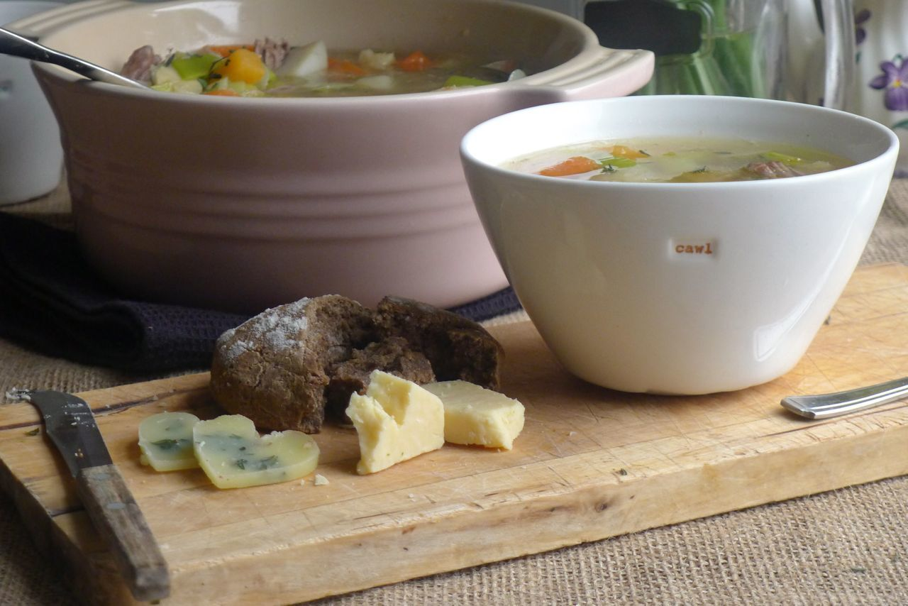 Welsh Cawl {lamb and root vegetable soup}