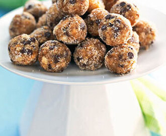 Fig-Chip Bourbon Balls