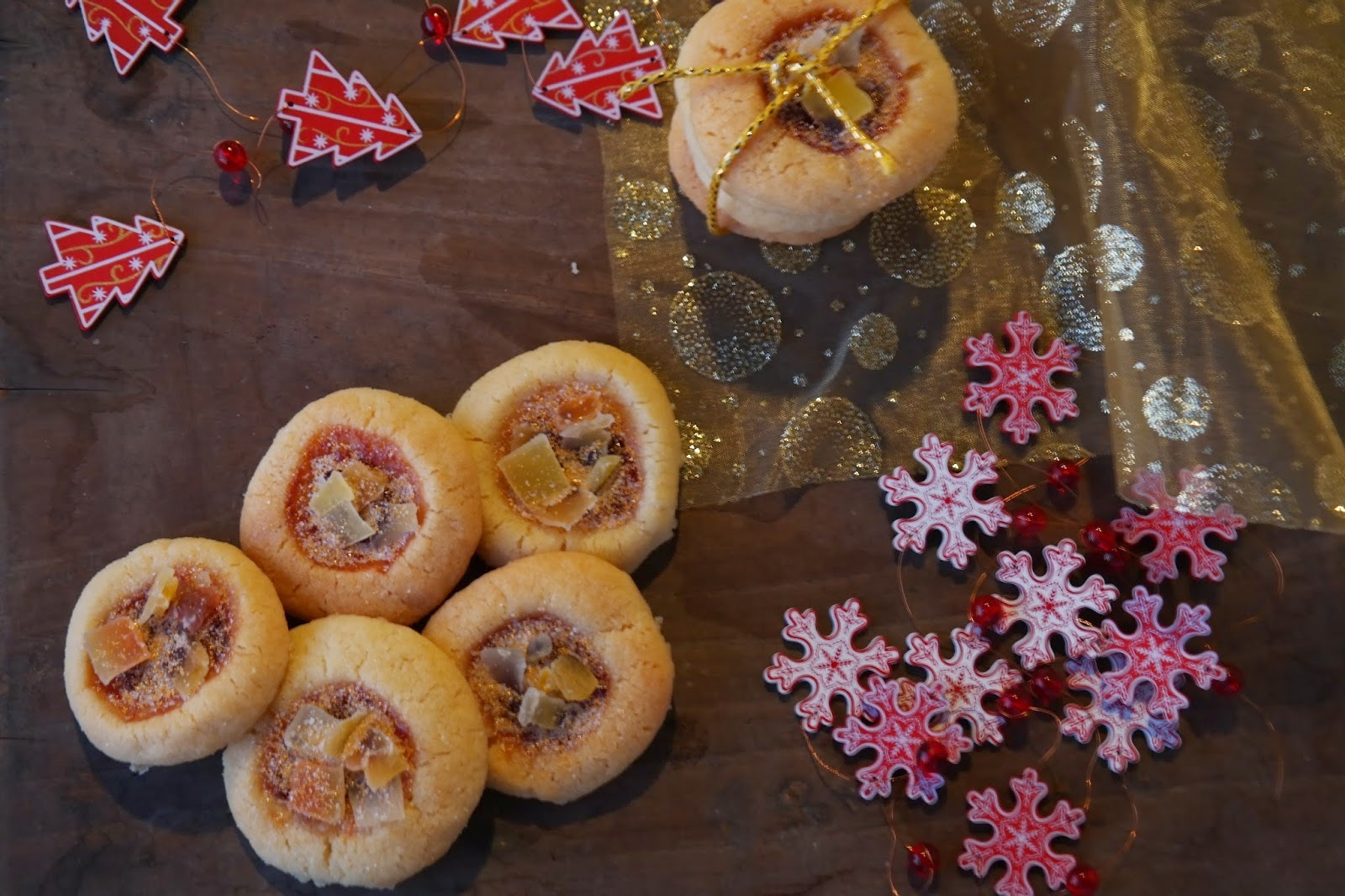 Bolachinhas de Natal - English butter cookies