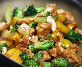 Pittige broccoli en tempeh