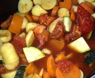 A Sort Of Spanish Stew – Slow Cooker Style