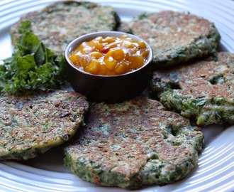 Little Green Kale Fritters