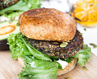 Black Bean Burger | Recept ICA.se