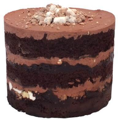 Chocolate Malt Layer Cake by Christina Tosi