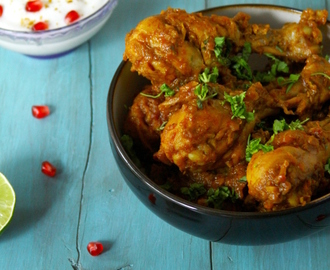 Balti Style Chicken {Chicken Cooked In A Spicy Masala}