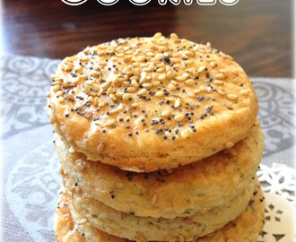 Parmesan Cookies de Laura Regalices. Reto El Asaltablogs