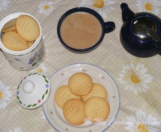 Butter Biscuits/Tea Kadai Style Butter Biscuits (Plain Butter Cookies) – BM # 30