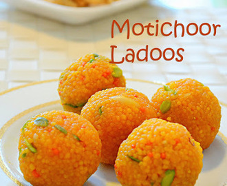 MOTICHOOR LADOO / HOW TO MAKE MOTICHOOR LADOO / EASY DIWALI SWEETS RECIPE