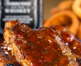 Jack Daniels Double Kick Pork Chops (With Video)