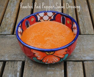 Roasted Red Pepper Salad Dressing
