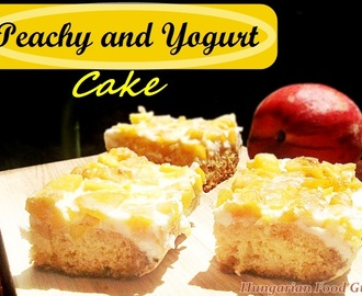 Peachy Yogurt Cake
