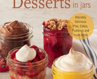 Review- Vegan Desserts In Jars & Pumpkin Creme Brulee Recipe