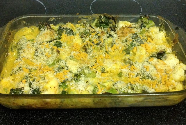 Vegan French Food You say?....Vegan Vegetable Au Gratin with Vegan Bechamel Sauce!!!