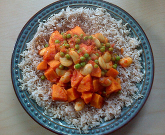 Sweet Butter Bean Curry