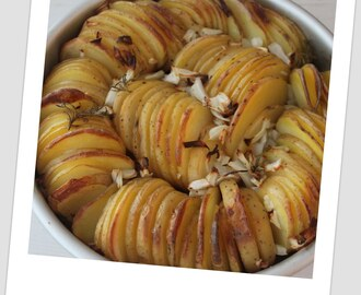 Spiraling Roasted Potatoes