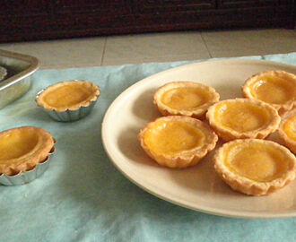 EGGLESS  LEMON TART