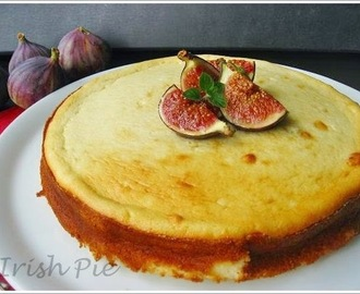 Lemon Goat Cheese Cake with Figs and Honey / Ziegen – Käsekuchen mit Feigen und Honig