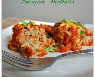 2 Ways to make Porcupine Meatballs in the Slow Cooker