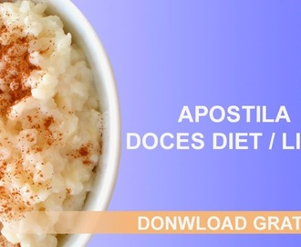 Apostila de Doces Light / Diet