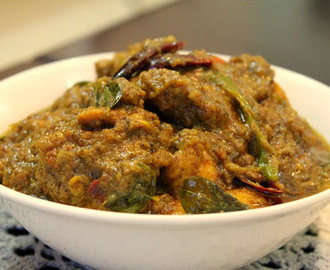 Chettinad Style Boneless Chicken - Gravy