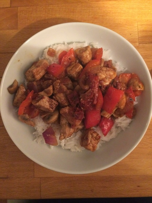 Spicy Pork and Rice