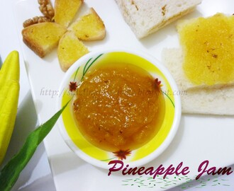 Pineapple Jam - Home Made