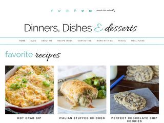 Dinners, Dishes and Desserts
