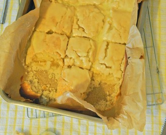 Lemon Drizzle Tray Bake