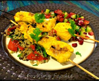 Joojeh Kabab - Persian Chicken Kebabs with Lemon and Saffron (includes Thermomix instructions)