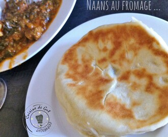 Naans au fromage …. enfin !!