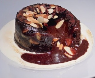 chocolate and salted caramel molten puddings from the great british bake off.