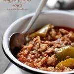 Stuffed Pepper Soup + KitchenAid Stand Mixer Giveaway!